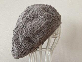 コットンベレー帽の画像