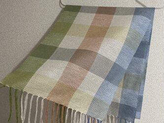 手織りストール SU29の画像