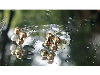 JIU Brass Studs Earringsの画像