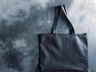 ZIP TOTE WATER PROOF GOAT LEATHERの画像