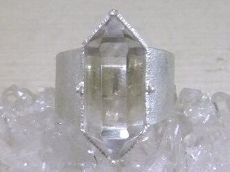 NYハーキマーダイヤ*925 ringの画像