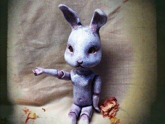 MT様専用//売約済み【ミニ球体関節・ウサギ人間(簡易ドレス)】の画像