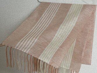 手織りストール SU30の画像