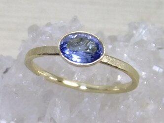 タンザナイト*K10 ringの画像