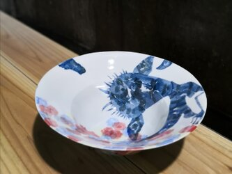 鉢(水辺の生き物)(11-123)の画像