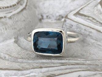 カイヤナイト(ブルーグリーン)・リング(silver)の画像