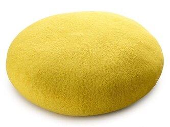ウール ベレー帽 キッズ ライム Mサイズ [YO-BR003-LI-M]の画像