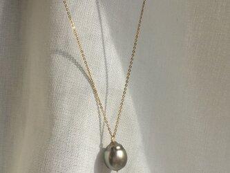 【K14GF】Tahitian Baroque Pearls Necklaceの画像