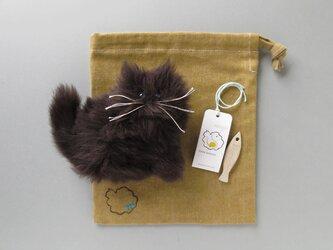 """受注製作 >> PEPOSO: furry animals """"cat"""" ねこ / ブラウンの画像"""