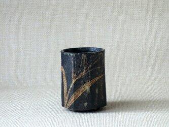 八角湯呑(金彩すすき)の画像