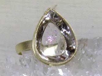 ピンクファイアクォーツ*K10 ringの画像