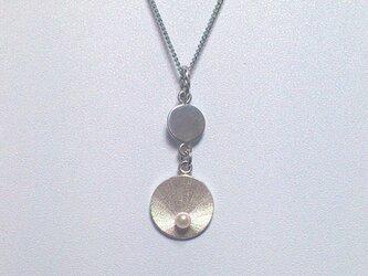 circle○パール ネックレスの画像