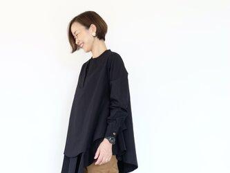 Kasane blouse / blackの画像