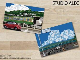 湘南イラスト ポストカード 2枚セット(A)の画像