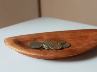 リム付き木製トレイ『サクラ』の画像