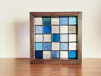 パネル・Composition(ブルー)の画像