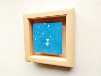 「夜に咲く花」 イラスト原画 ※ボックス型木製額縁入りの画像