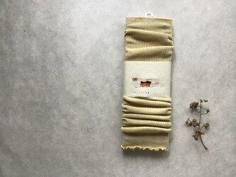 草木染めアームウォーマー コットン⑥の画像
