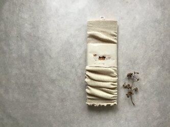 草木染めアームウォーマー コットン⑧の画像