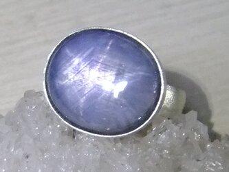 star sapphire*925 ringの画像