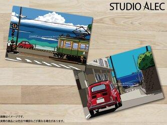 湘南イラスト ポストカード 2枚セット(E)の画像