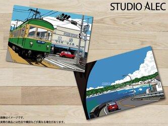 湘南イラスト ポストカード 2枚セット(H)の画像