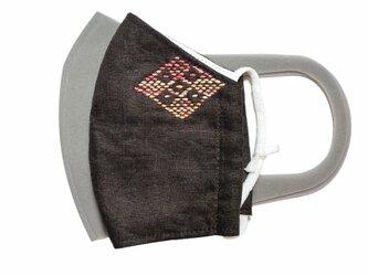 マスク・濃茶の画像