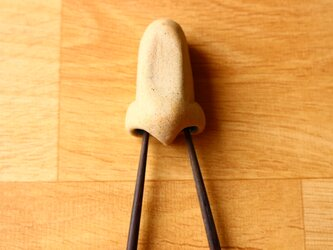 鼻の穴はしおき大2WAY(肌色:穴 ピンク色)の画像