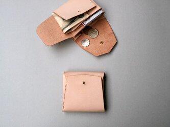 スクエア財布 NUME (牛革)の画像