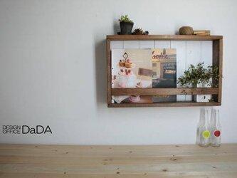 B6338*アンティーク風ブックラック*飾り棚の画像