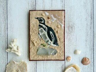 Seaglass Walldecoration マゼランペンギンの画像