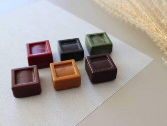 【秋限定・お米から出来たくれよん】くり と ぶどうの画像