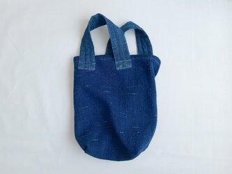 tote bag #3 藍の画像