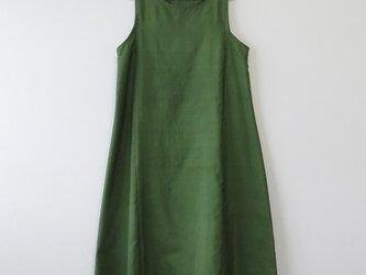 *アンティーク着物*大島紬のワンピース(Lサイズ・5マルキ)の画像