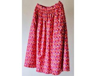 【開店セール中】リバーシブルスカート リバティ(ジョリー/Jo Lee)国産リネンの画像