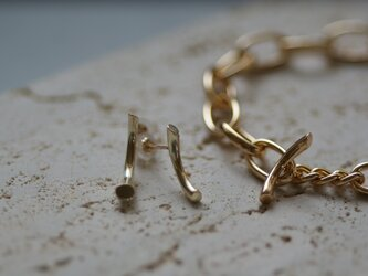 【charm】10K twig pierceの画像