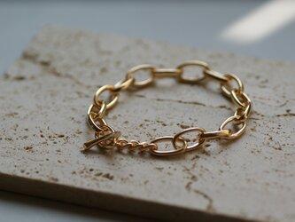【charm】 twig gold braceletの画像
