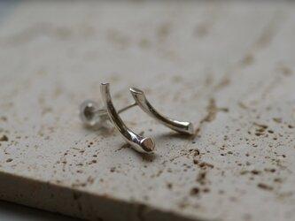 【charm】 twig silver pierceの画像