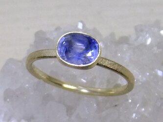 バイカラーサファイア*K10 ringの画像