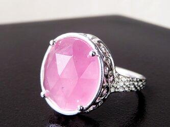 ローズクォーツ リング * Rose Quartz Ringの画像
