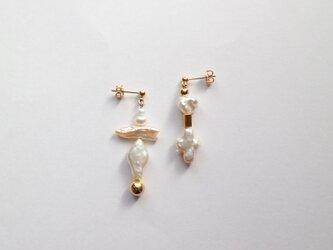 貝殻の美術館C~ピアス(イヤリング)~の画像