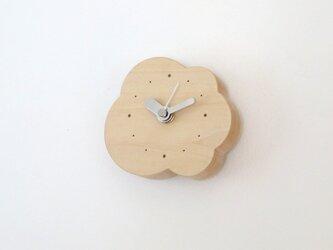 小さなくもの壁掛け/置き時計|basswoodの画像