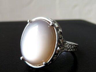 グレームーンストーン リング * Moonstone Ring lの画像