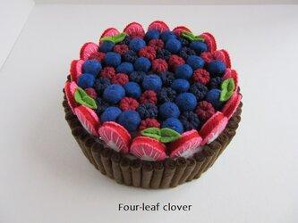 《直径13.5㎝》ブランチケーキ(ビター×4種のベリー)の画像