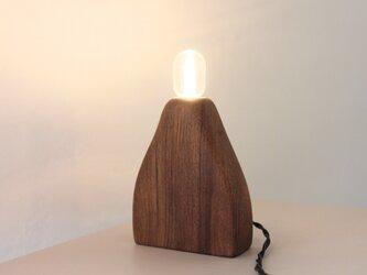 木のランプ【クワ】の画像