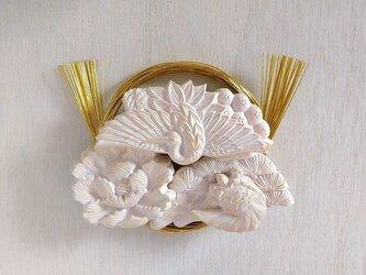 和のかたち 壁飾り 鶴亀の画像