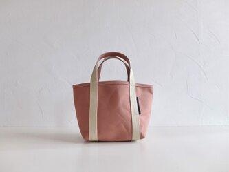 tote bag XS size ウスベニの画像