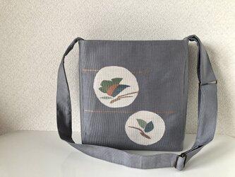 帯バッグ〜蝶〜の画像