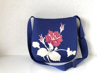 帯バッグ〜ピンク色の薔薇〜の画像