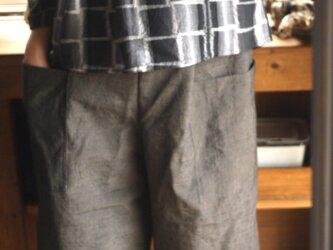 正絹反物からパンツの画像